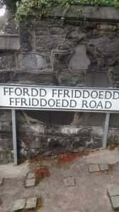 Ffordd Ffriddoedd Ffriddoedd Road