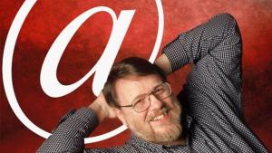 Ray Tomlinson, the author of the first e-mail