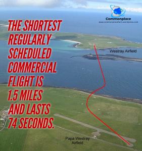 #scotland #aviation #shortest-flight