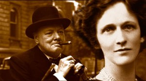 Winston Churchill and Lady Nancy Astor