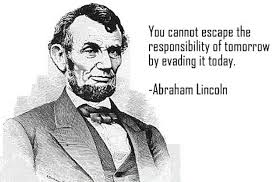 lincoln responsibility