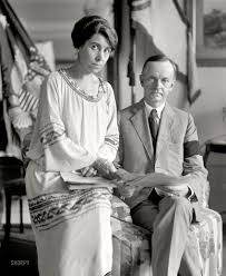 President and Mrs. Calvin Coolidge