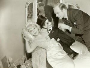 Mae West, Charlie McCarthy, and Edgar Bergen