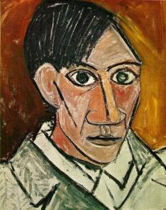 Self-Portrait of Pablo Picasso (1907)