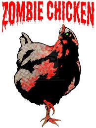 zombie chicken
