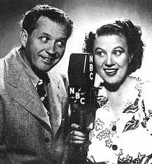 Jim and Marian Jordan as Fibber McGee and Molly