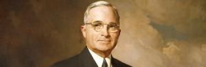 President Harry Truman (1884 - 1974)