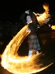 The Scottish Hogmanay Fireball custom
