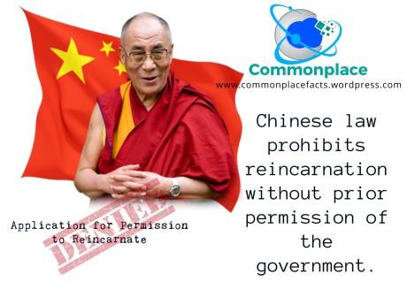 Dalai Lama reincarnation China regulations