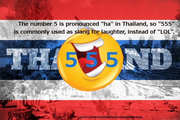 LOL emoticons Thailand 555 laugh