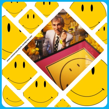 Harvey Ball creator of the smiley face