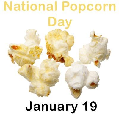 national popcorn day january 19