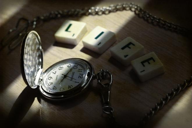 life clock ticking down