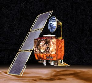 Mars climate orbiter lost because of metric mishap