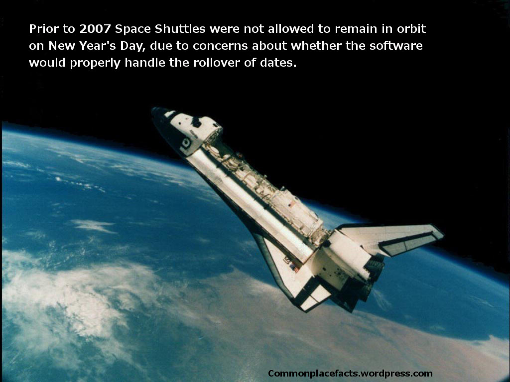 No New Year's Party in Orbit – Commonplace Fun Facts