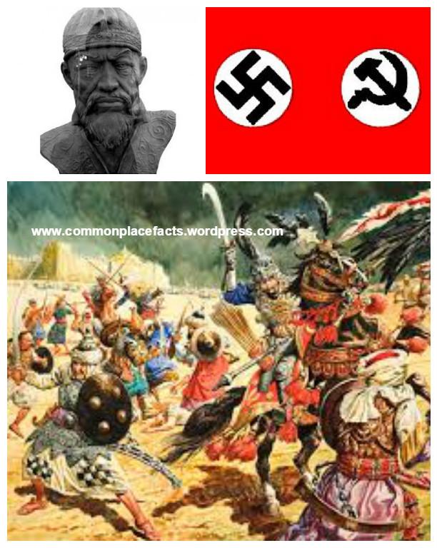 tamerlane tomb nazi invasion coincidence