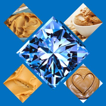 Image result for peanut butter can be converted into diamonds