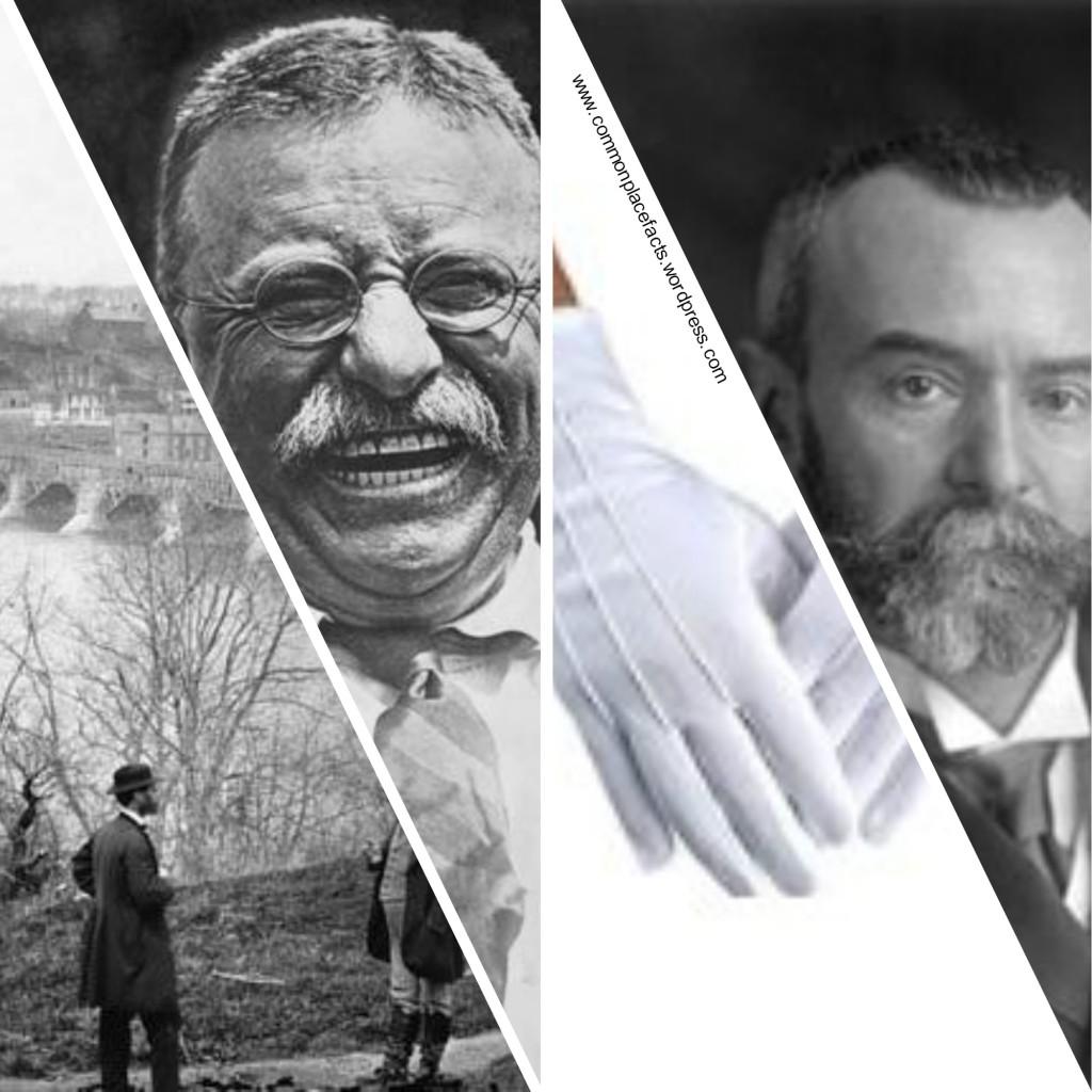 President Theodore Roosevelt and French Ambassador Jules Jusserand