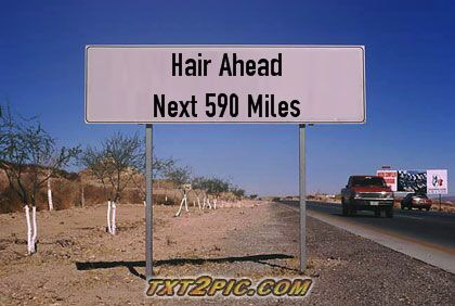 average person grows 590 miles of hair
