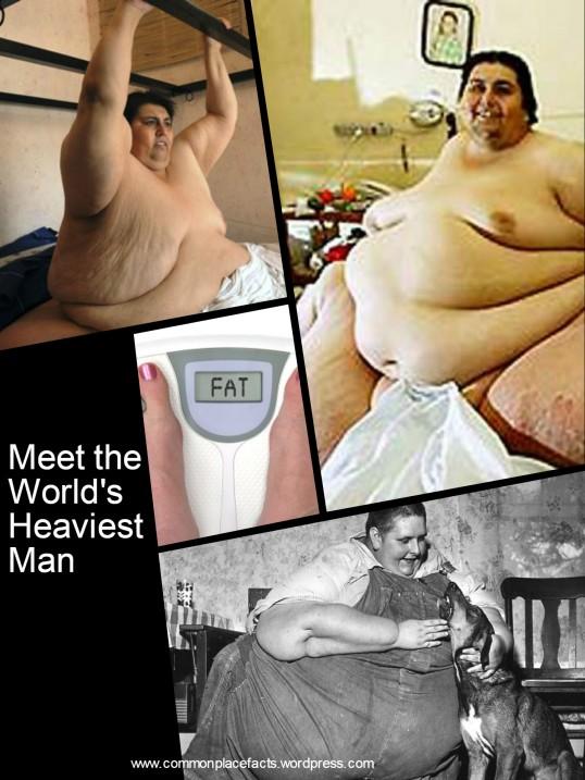 World's heaviest man 1,400 pounds Jon Brower Minnoch