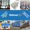 Walmart sales per second profits per second