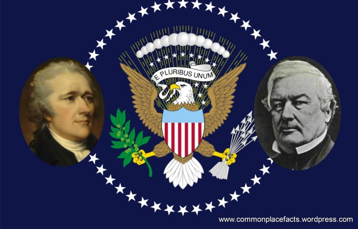 Americans mistakenly think Alexander Hamilton was President but don't recognize Millard Fillmore
