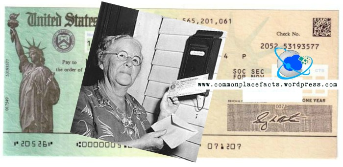 First Social Security benefits Ida May Fuller