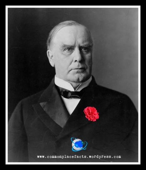 William McKinley gave away his lucky carnation moments before being assassinated