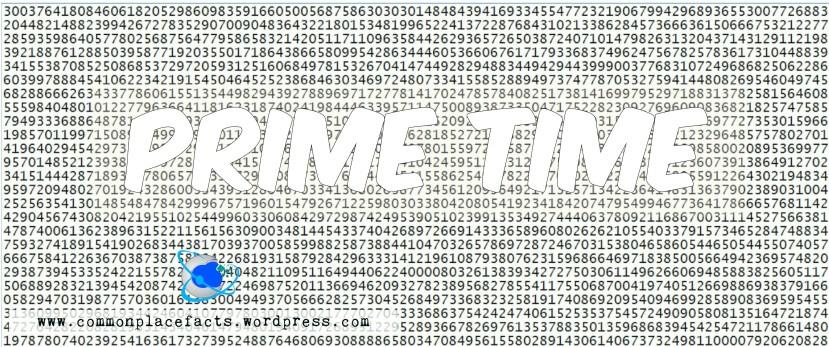 largest prime number