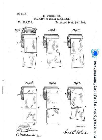 toilet paper holder patent