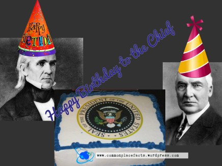 Presidential birthdays November 2