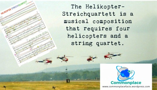 Helikopter-Streichquartett four helicopters and string quartet