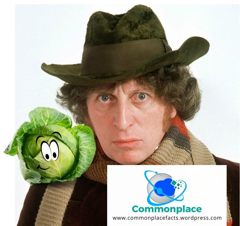 Doctor Who Tom Baker Talking Cabbage