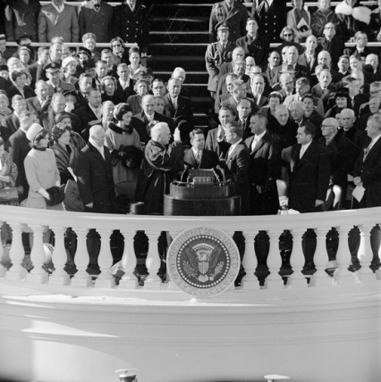 """Hot words"" Eisenhower to Kennedy fire at podium"