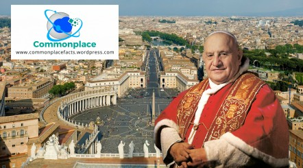 Pope John XIII how many people work at the Vatican