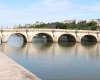 "Oldest bridge in Paris Pont Neuf ""New Bridge"""