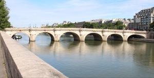 Oldest bridge in Paris Pont Neuf