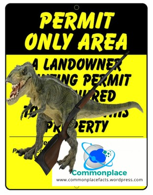 Vernal, Utah Dinosaur hunting permit