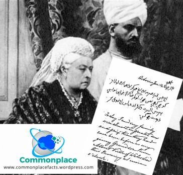 Queen Victoria learned Hindustani