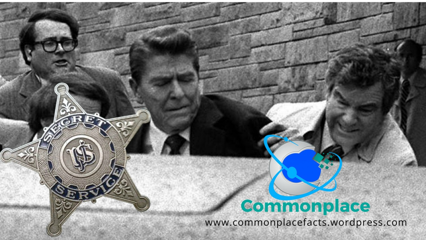 "Secret Service Agent Jerry Parr ""Code of the Secret Service"" Ronald Reagan"