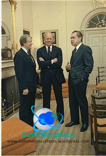 """See no evil. Hear no evil. Evil."" Ford, Carter, Nixon, Dole"