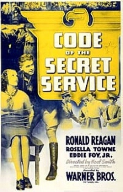 Code of the Secret Service starring Ronald Reagan