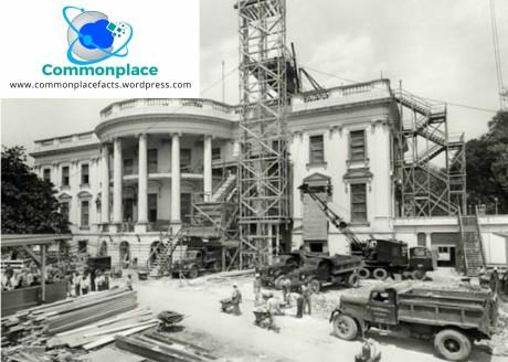 White House Truman renovation