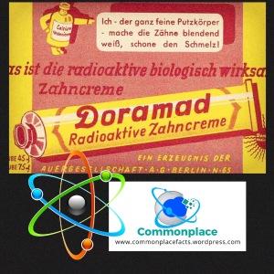 German radioactive toothpaste quack medicine