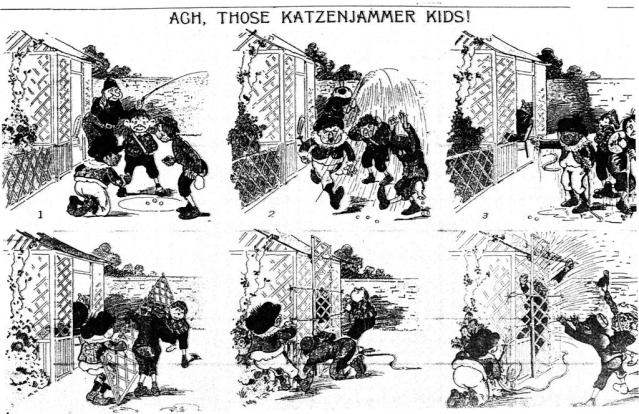 Katzenjammer Kids first appearance