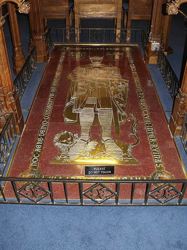 tomb of Robert the Bruce