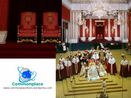 Queen Elizabeth II throne room