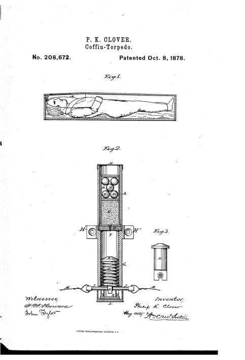 Coffin torpedo patent