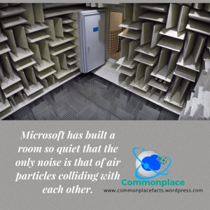 anechoic room quietest place on earth Microsoft