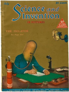 Hugo Gernsback The Isolator Science and Invention Magazine